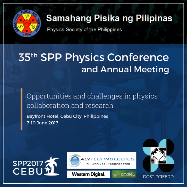 35th SPP Physics Conference @ Cebu