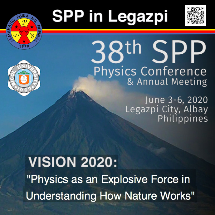 38th SPP Physics Conference @ Legazpi