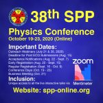 38th SPP Physics Conference Online